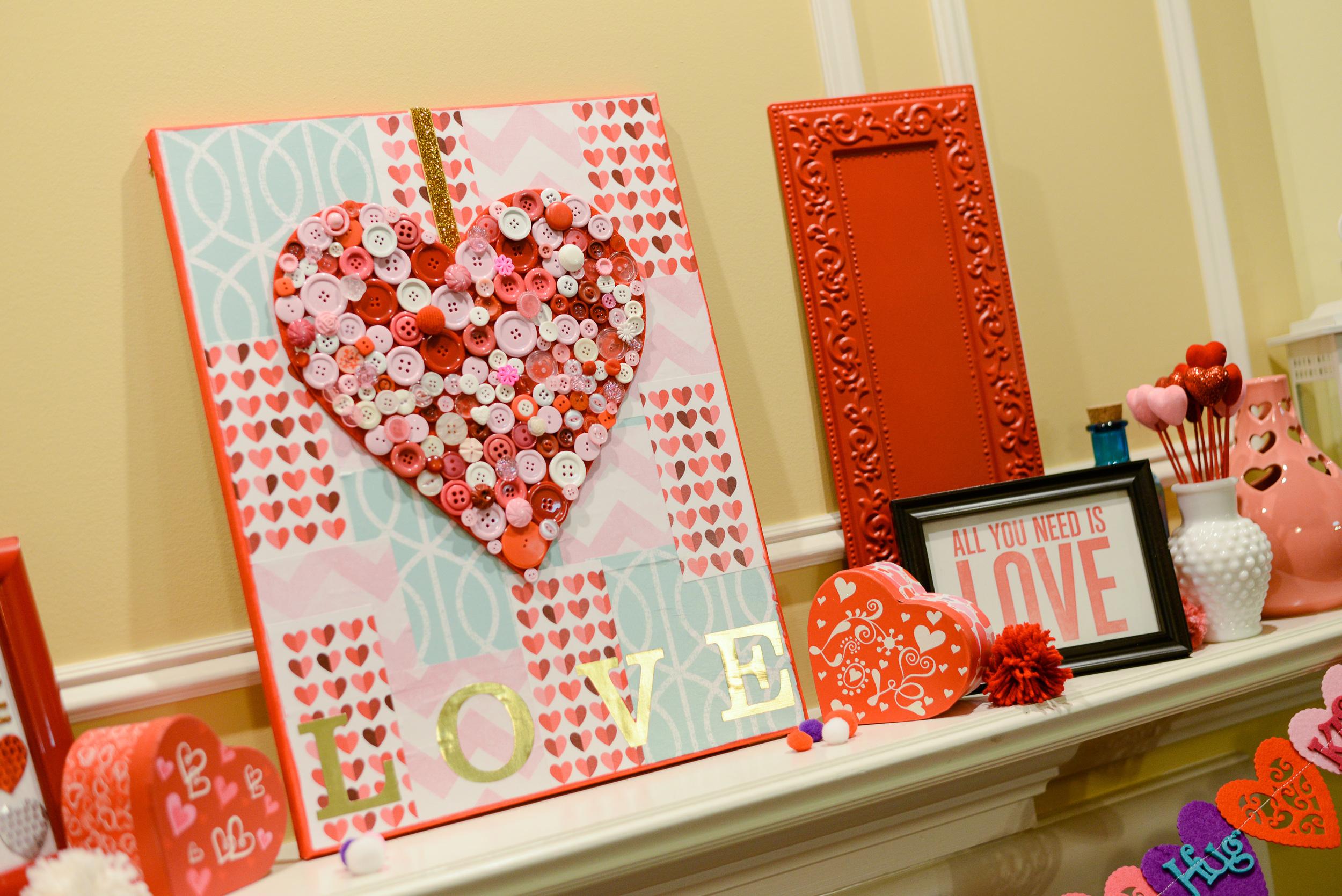 Holiday Home Decor Love Canvas Me My Big Ideas