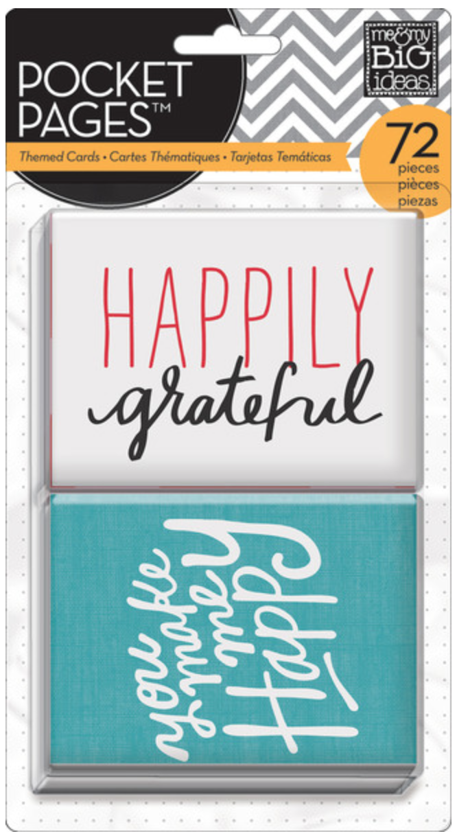 'I Love Life' POCKET PAGES™ cards | me & my BIG ideas