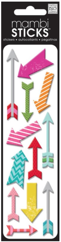 'Puffy Arrows' mambiSTICKS puffy stickers | me & my BIG ideas