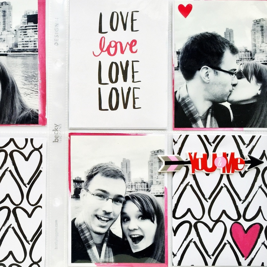 'love love love' POCKET PAGES™