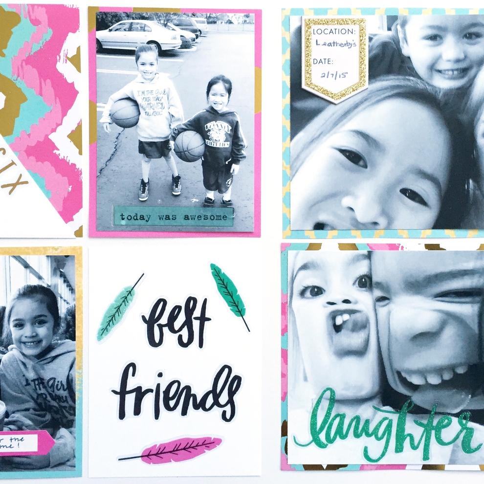 week 6 best friends POCKET PAGES™
