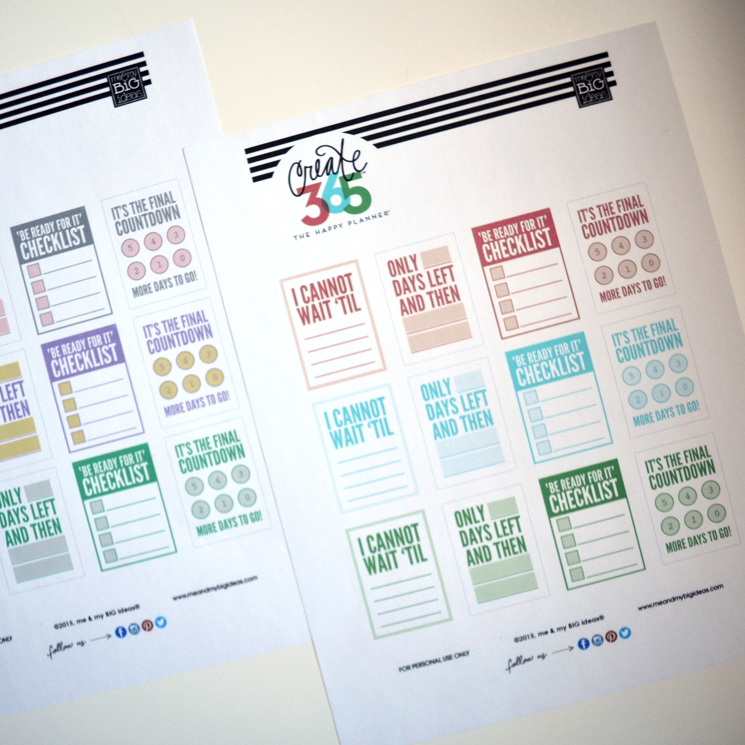 photograph relating to Free Happy Planner Printable Inserts referred to as No cost PRINTABLES me my Large Plans