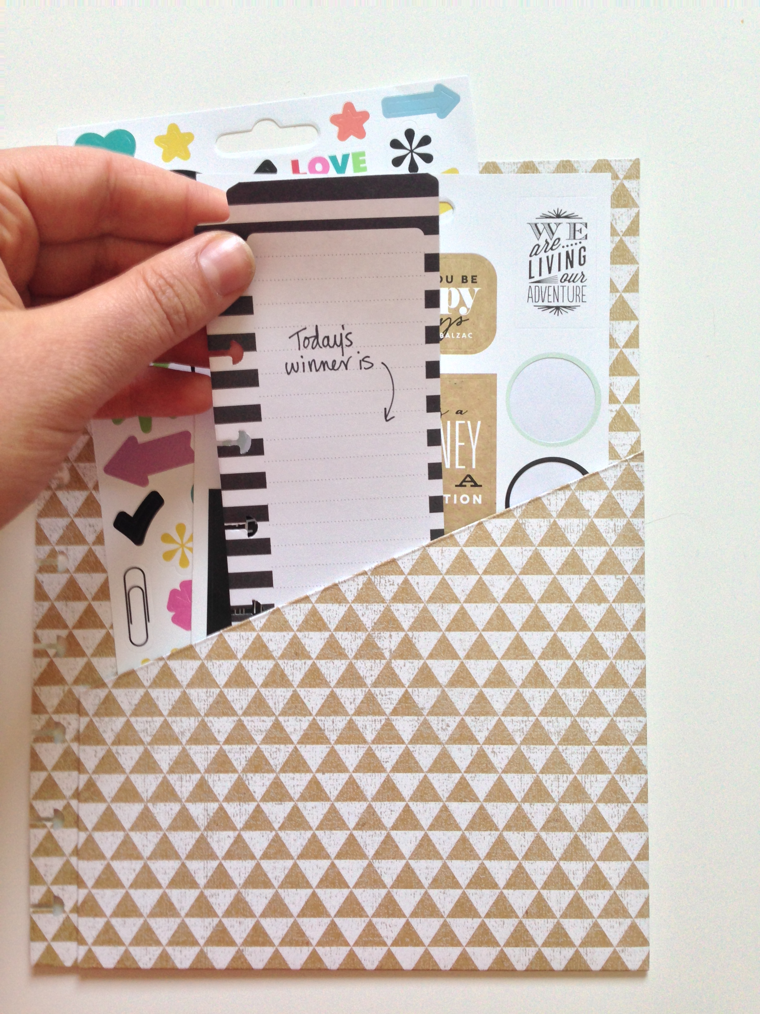 The Happy Planner™ GIVEAWAY EGG-STRAVAGANZA winner for April 6th   me & my BIG ideas