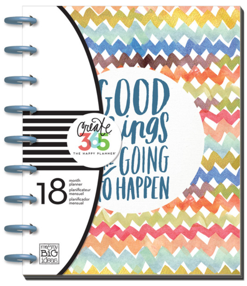 'Good Things are Going to Happen' Happy Planner™ | me & my BIG ideashttp://shop.meandmybigideas.com/collections/create-365/products/good-things-planner