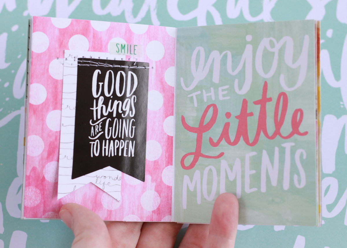 mini books created using POCKET PAGES™ cards by mambi Design Team member Heather Adams | me & my BIG ideas