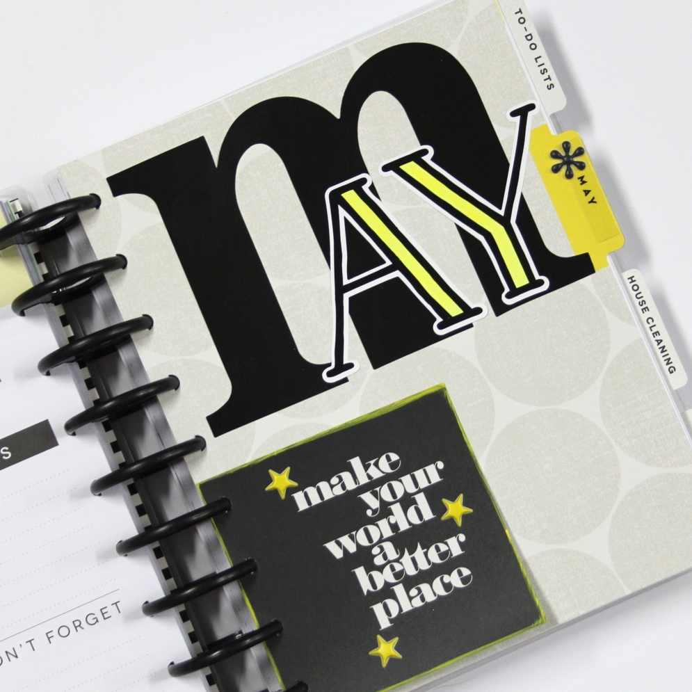 prepping for May in Create 365™ The Happy Planner™