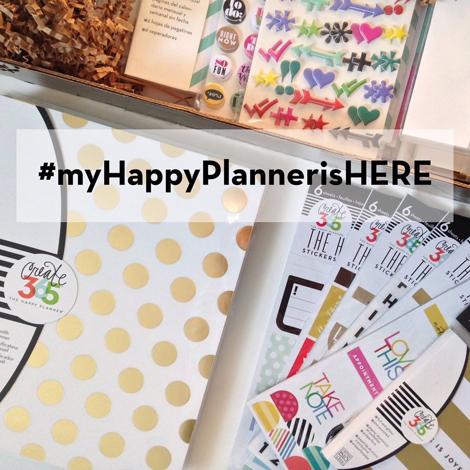 tag #myHappyPlannerisHERE on instagram