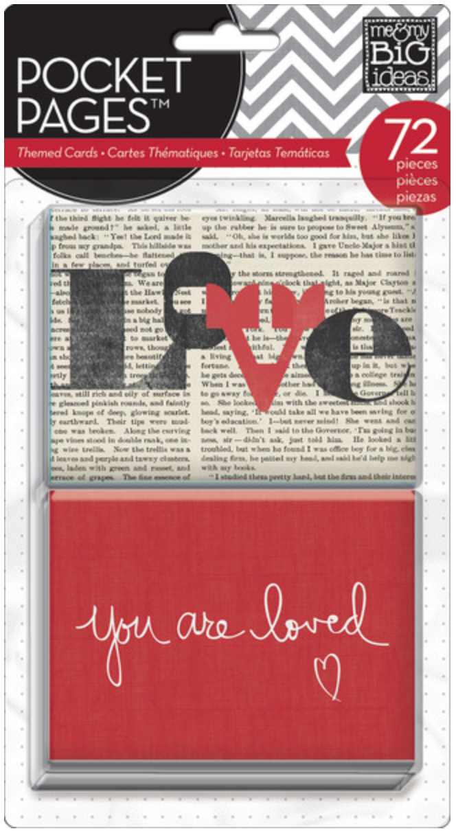 'You Are Loved' POCKET PAGES™ cards | me & my BIG ideas