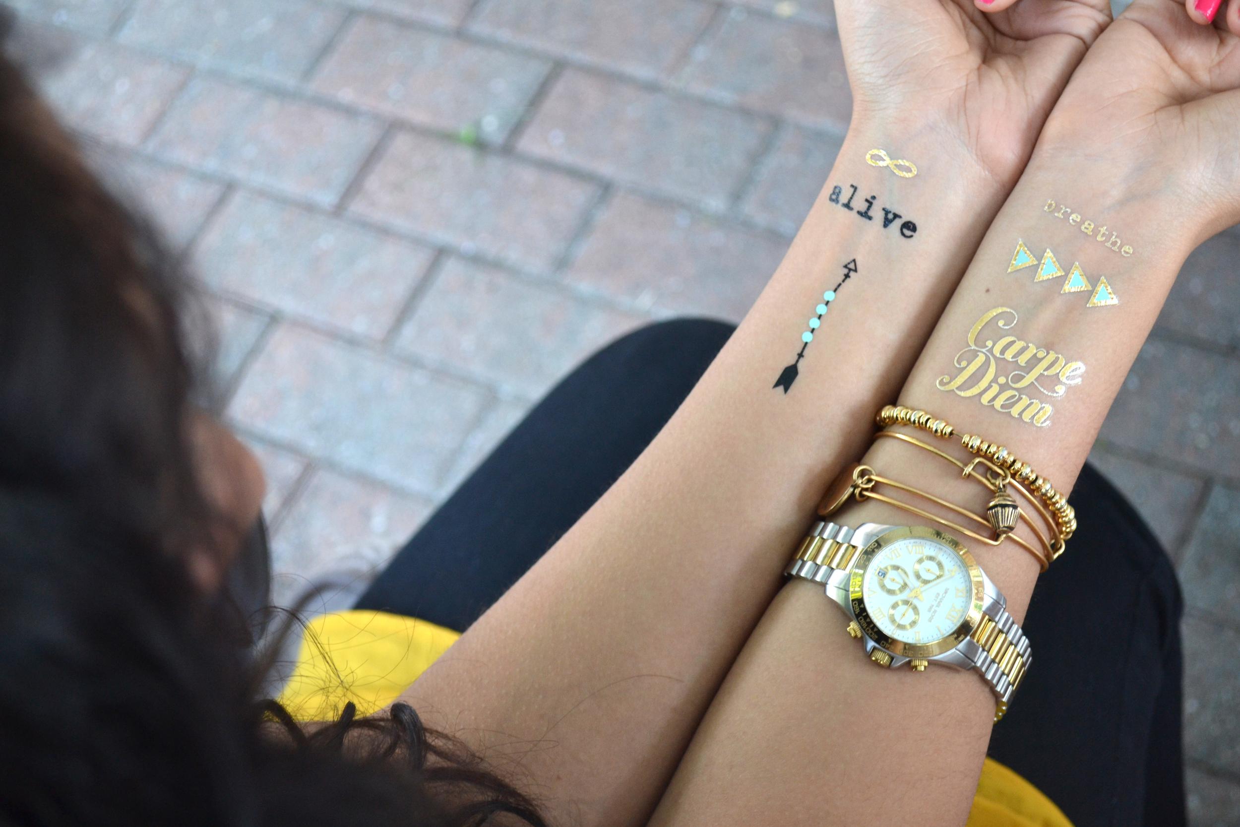 mambi Fancy Tats™ Metallic Tattoos station at your next BBQ! | me & my BIG ideas
