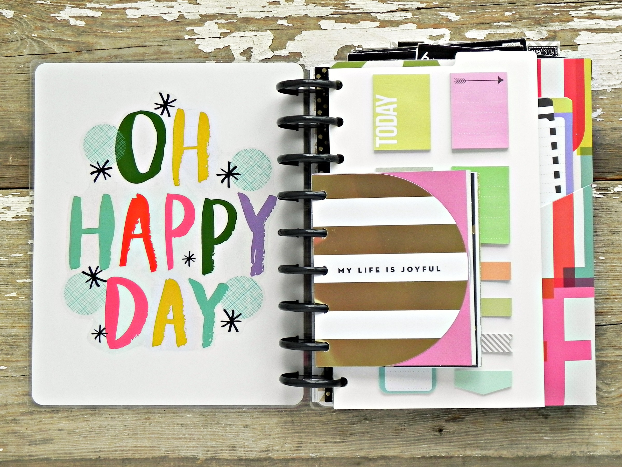 """photo relating to Planner Supplies identified as The Satisfied Plannerâ""""¢ a different ebook for planner products"""