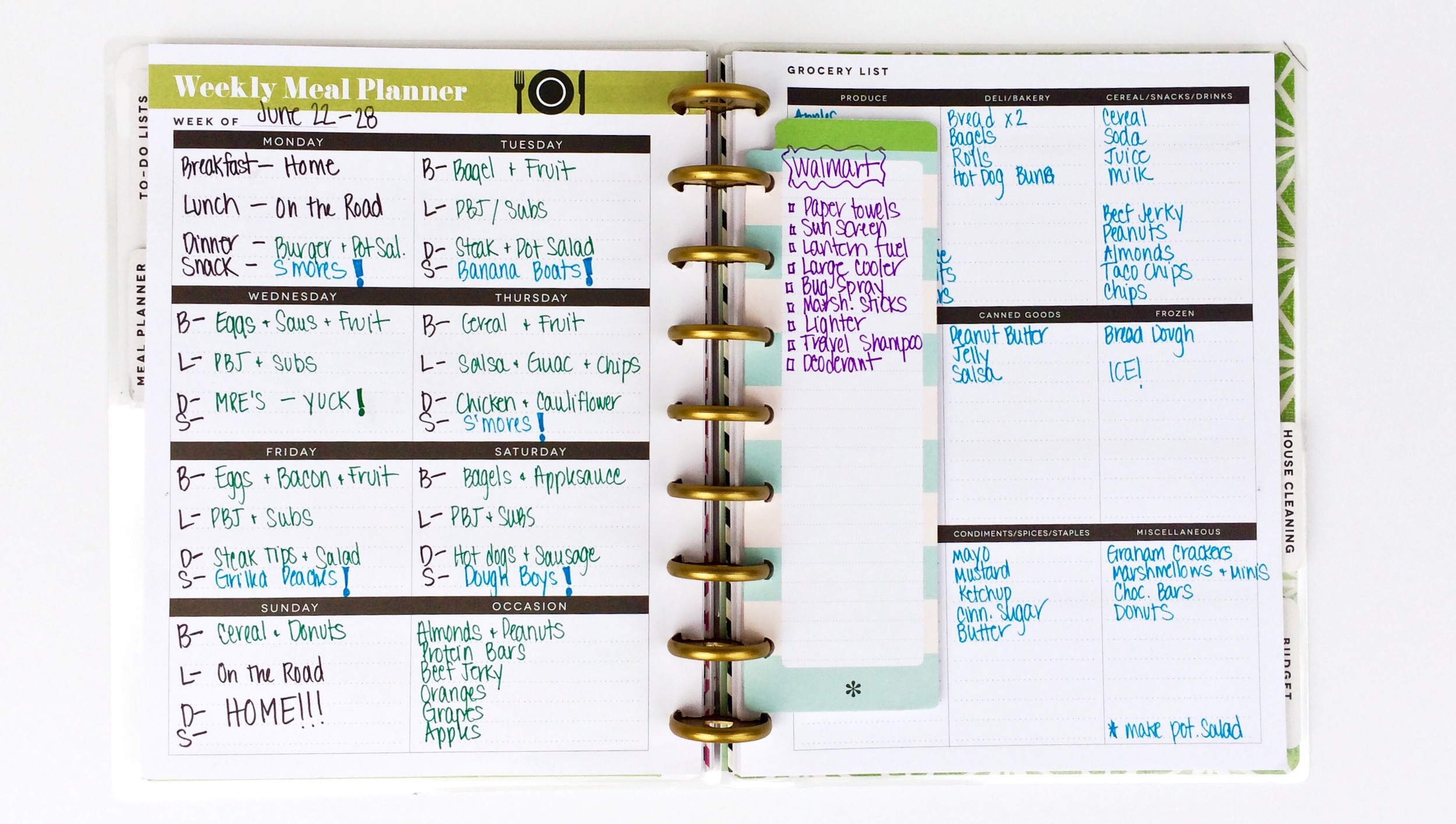 The Happy Planner™ | Camping Planner — me & my BIG ideas