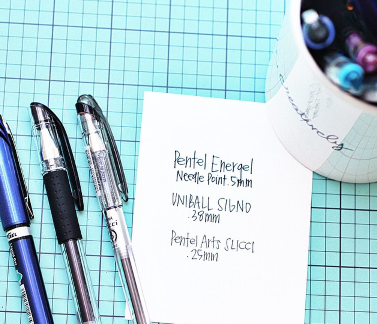 pens used by mambi Design Team member April Orr in her Happy Planner™ | me & my BIG ideas