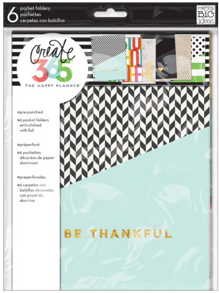 Pocket Folders for Create 365™ The Happy Planner™   me & my BIG ideas