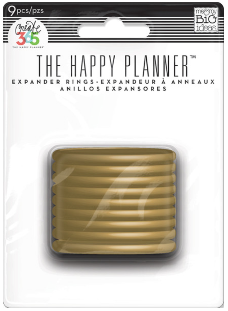 Gold Expander Rings for Create 365™ The Happy Planner™   me & my BIG ideas