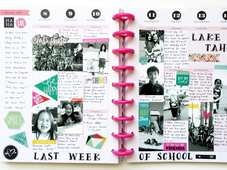 memory keeping the last week of school