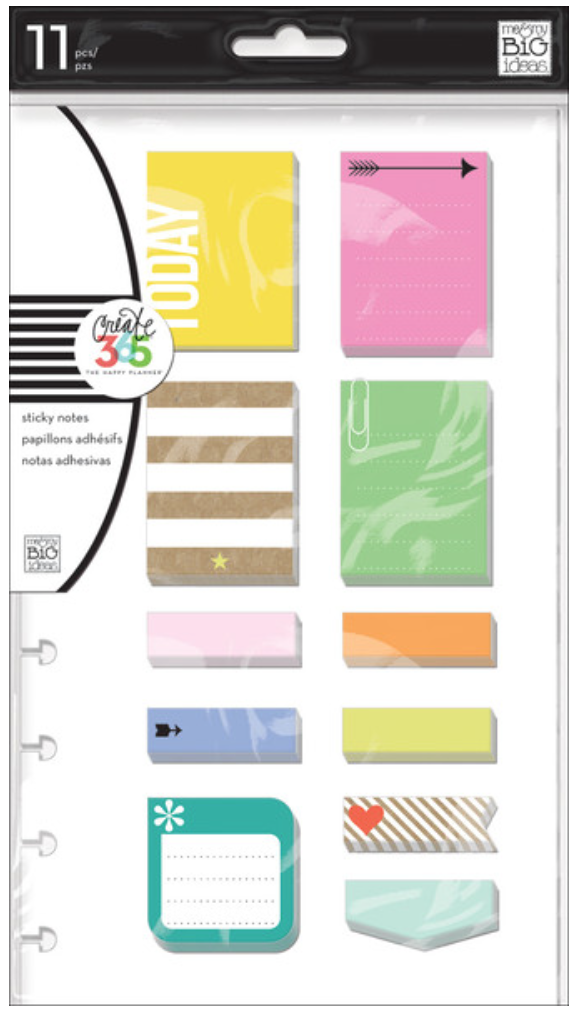 'Happy' Sticky Notes for Create 365™ The Happy Planner™ | me & my BIG ideas