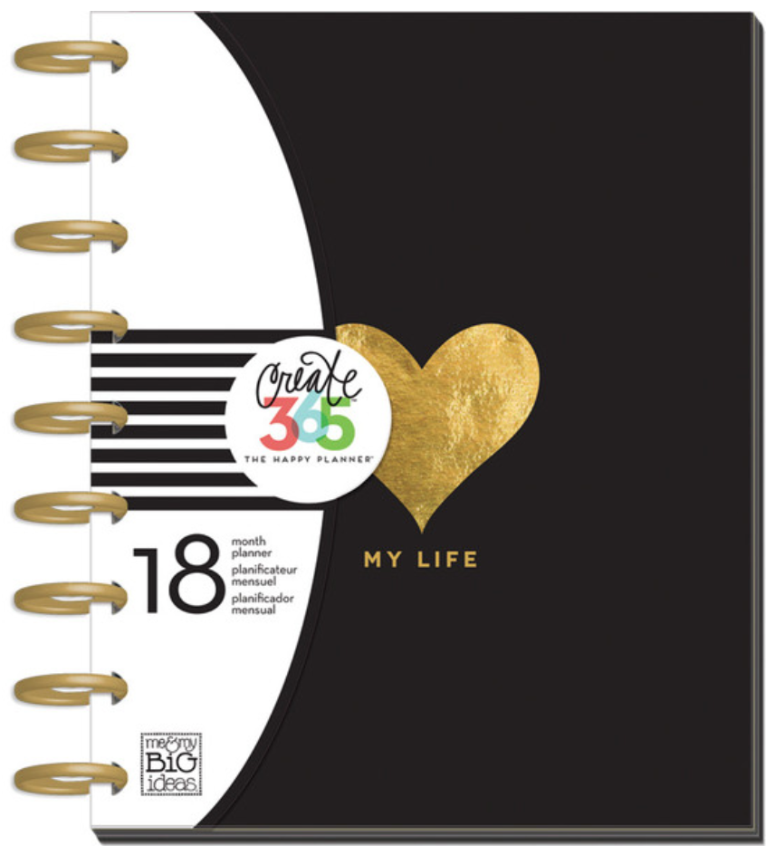 2015 - 2016 'My Life' Create 365™ The Happy Planner™ | me & my BIG ideas