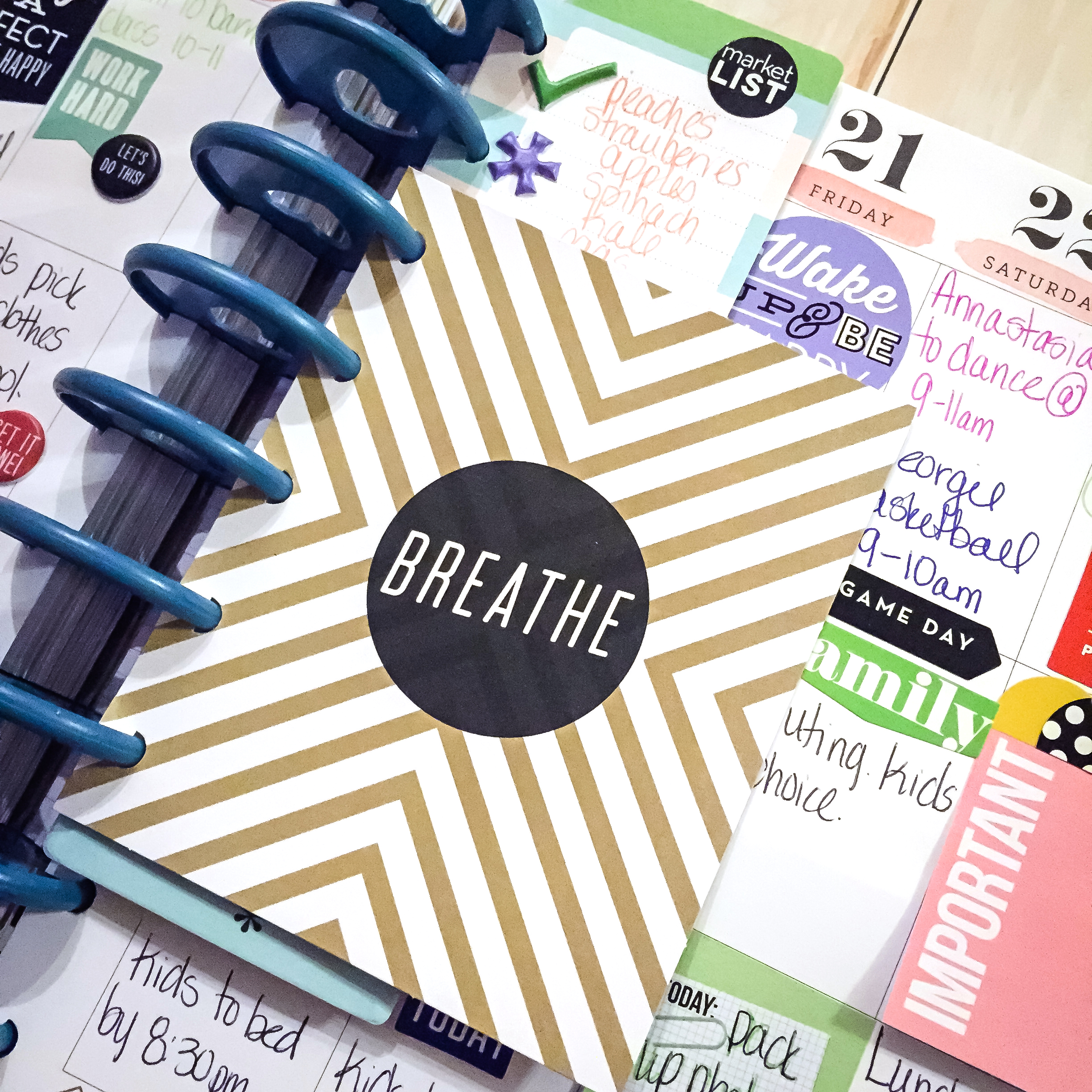 Back to School 'To Do's in The Happy Planner™ of mambi Design Team member Latrice Murphy | me & my BIG ideas