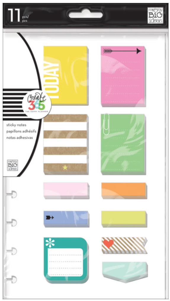 'Happy' Sticky Notes for Create 365™The Happy Planner™ | me & my BIG ideas