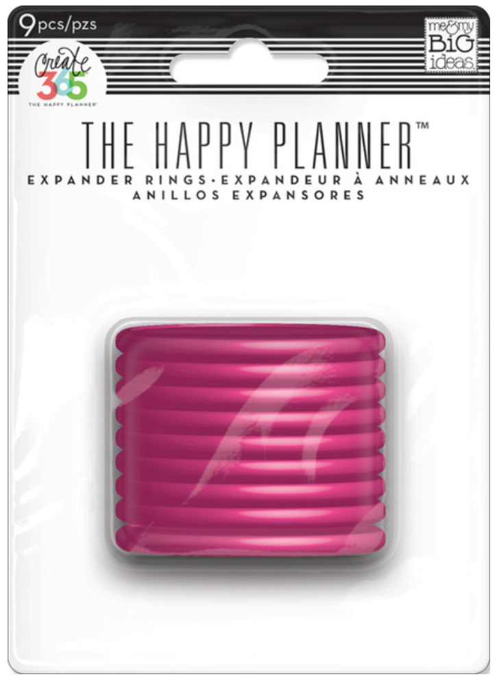 Pink Expander Rings for Create 365™ The Happy Planner™ | me & my BIG ideas