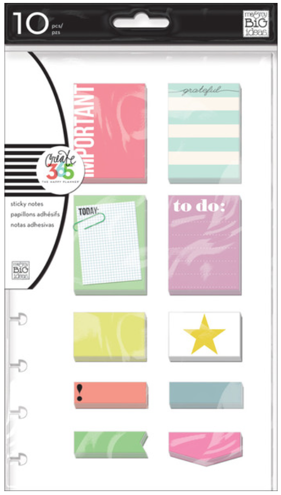 'Important' sticky notes for Create 365™The Happy Planner™ | me & my BIG ideas