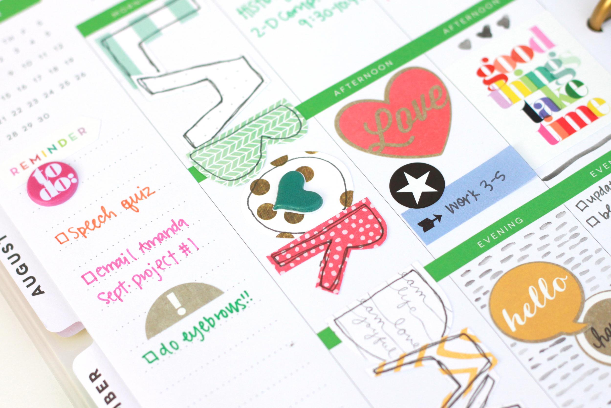 Labor Day weekin The Happy Planner™ of mambi Design Team member Heather Adams | me & my BIG ideas