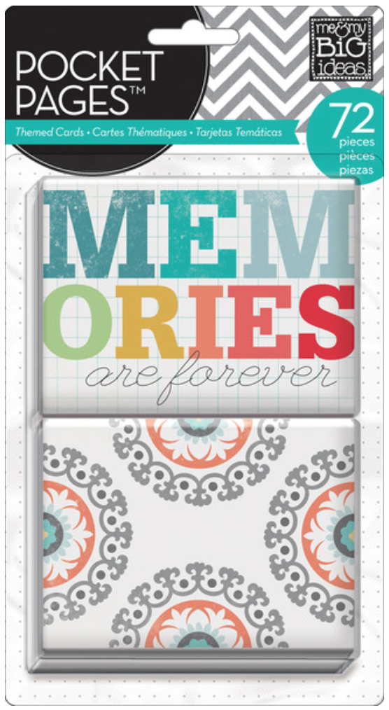 'Memories' POCKET PAGES™ cards | me & my BIG ideas