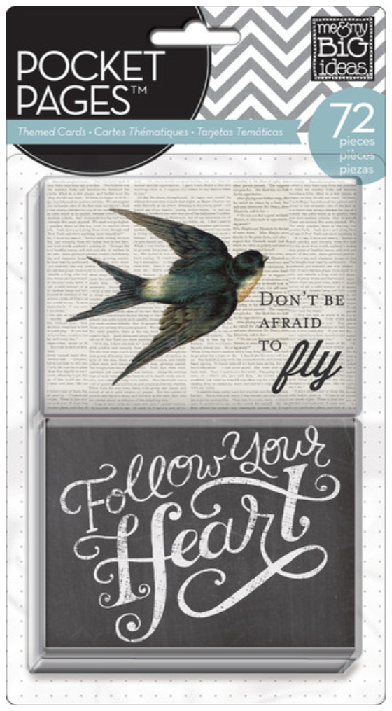 'Follow Your Heart' POCKET PAGES™ cards | me & my BIG ideas