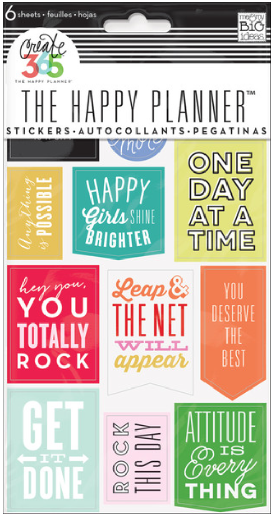 'Get It Done' sticker pad for Create 365™ The Happy Planner™ | me & my BIG ideas