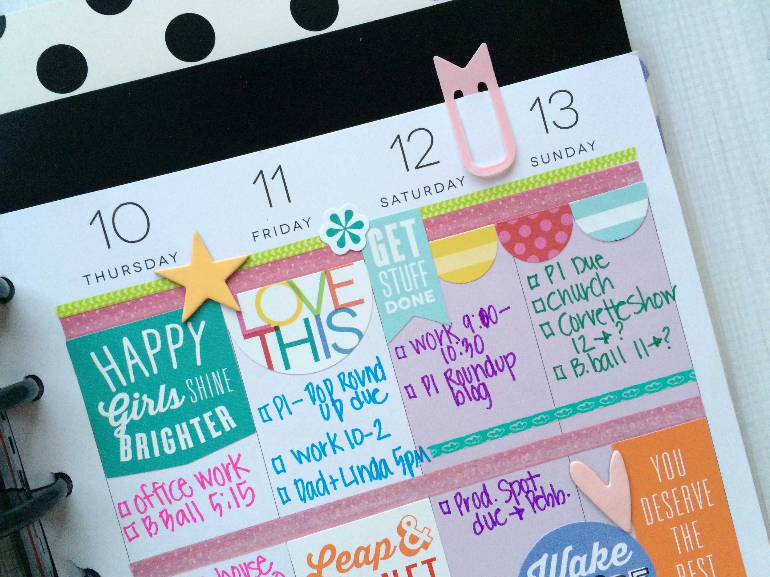 a colorful September week in The Happy Planner™ of mambi Design Team ember Mary-Ann Maldonado | me & my BIG ideas