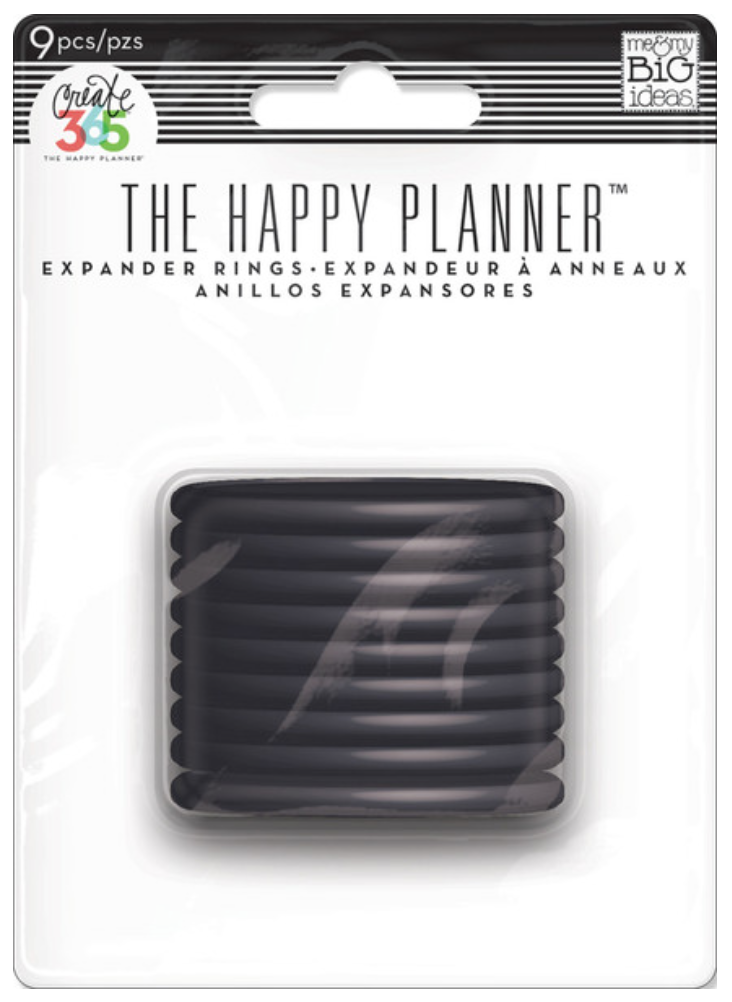 Black Expander Rings for Create 365™The Happy Planner™ | me & my BIG ideashttp://shop.meandmybigideas.com/collections/create-365/products/black-rings