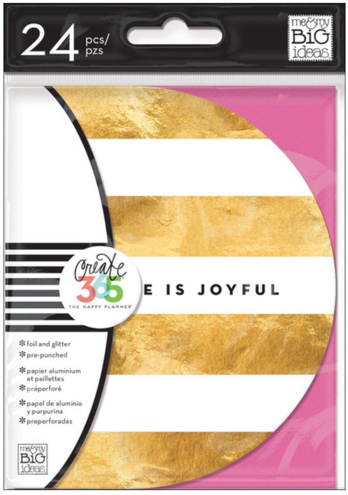 Inspiration Cards for Create 365™ The Happy Planner™ | me & my BIG ideas
