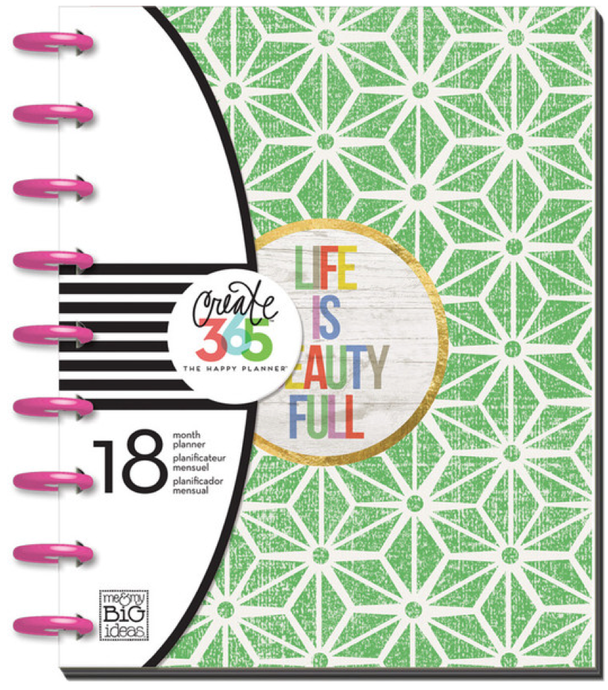 2015-2016 Life is Beauty Full Happy Planner™   me & my BIG ideas