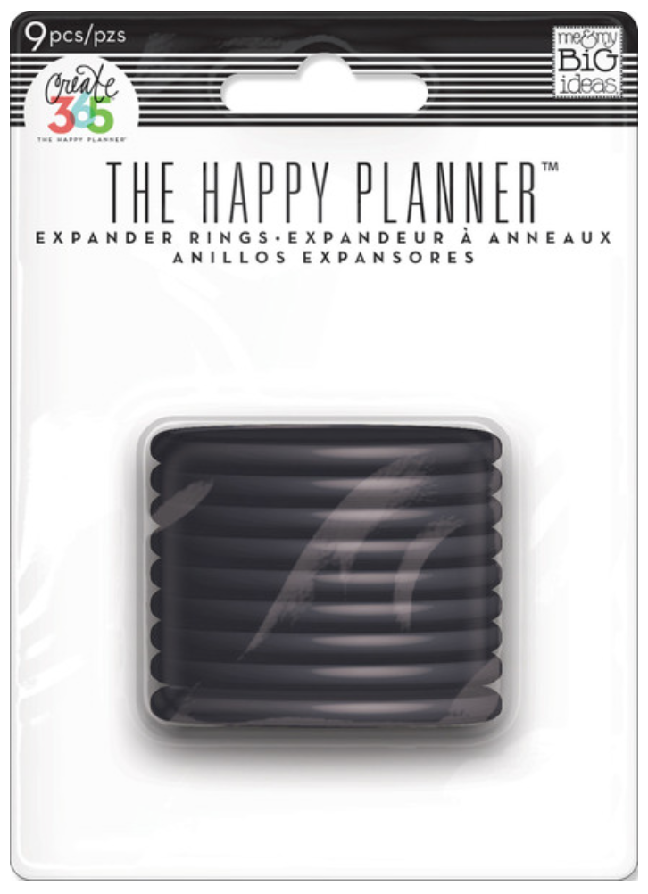 Black Expander Rings for Create 365™ The Happy Planner™   me & my BIG ideas
