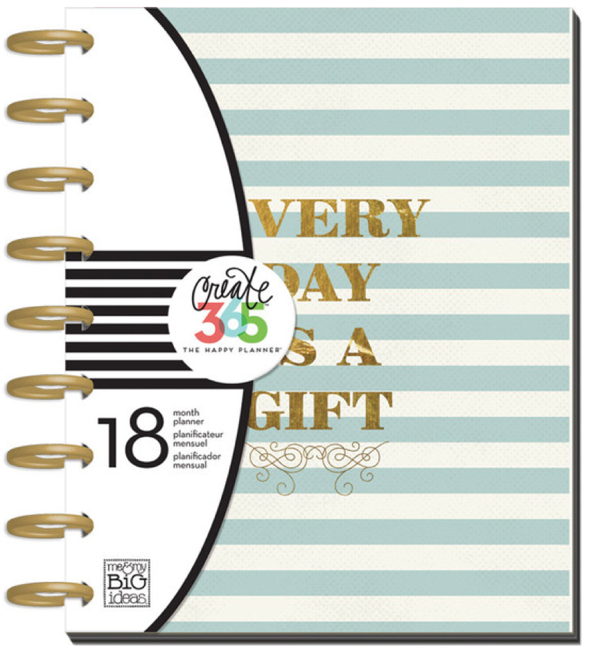 2015-2016 'Every Day is a Gift' Happy Planner™ | me & my BIG ideas