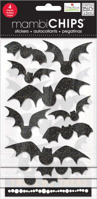 'Bats' mambiCHIPS Halloween chipboard stickers | me & my BIG ideas