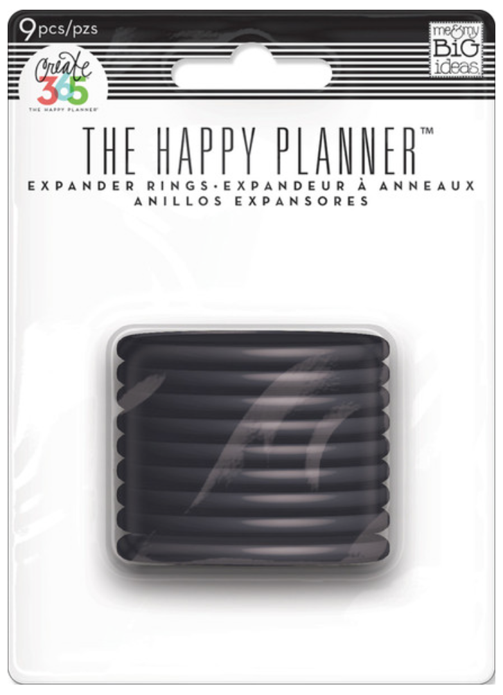 Black Expander Rings for Create 365™ The Happy Planner™ | me & my BIG ideas