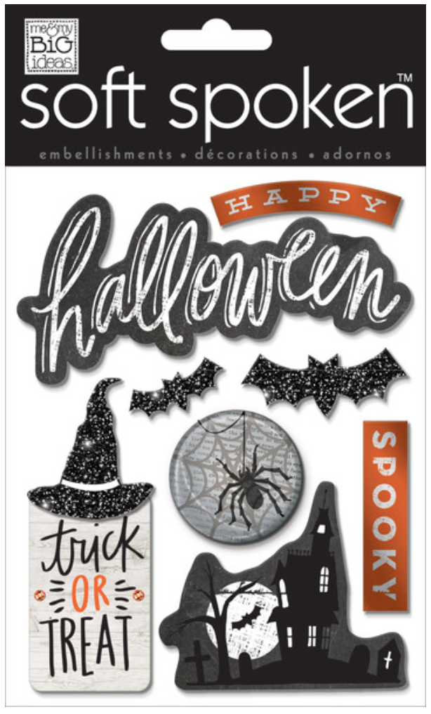 'Spooky' Halloween SOFT SPOKEN™ stickers | me & my BIG ideas