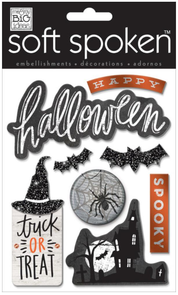 'Spooky' Halloween SOFT SPOKEN™ stickers | me & my BIG ideas