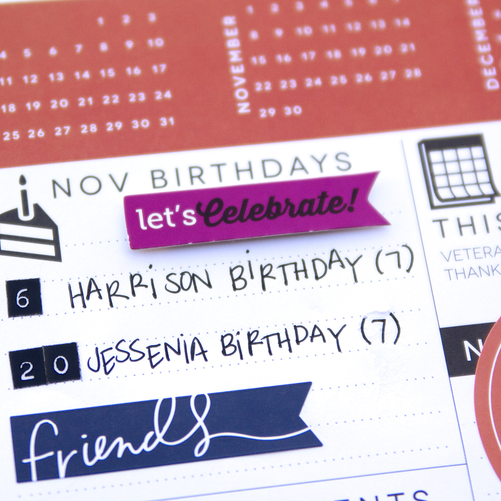 The Happy Planner™ | November Prep pages — me & my BIG ideas