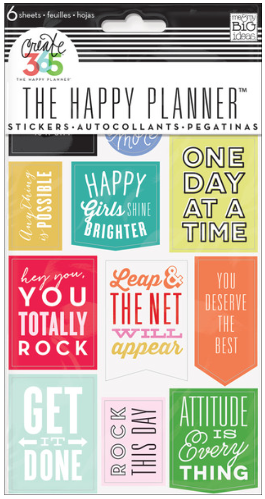 'Get it Done' Quote sticker for Create 365™ The Happy Planner™ | me & my BIG ideas