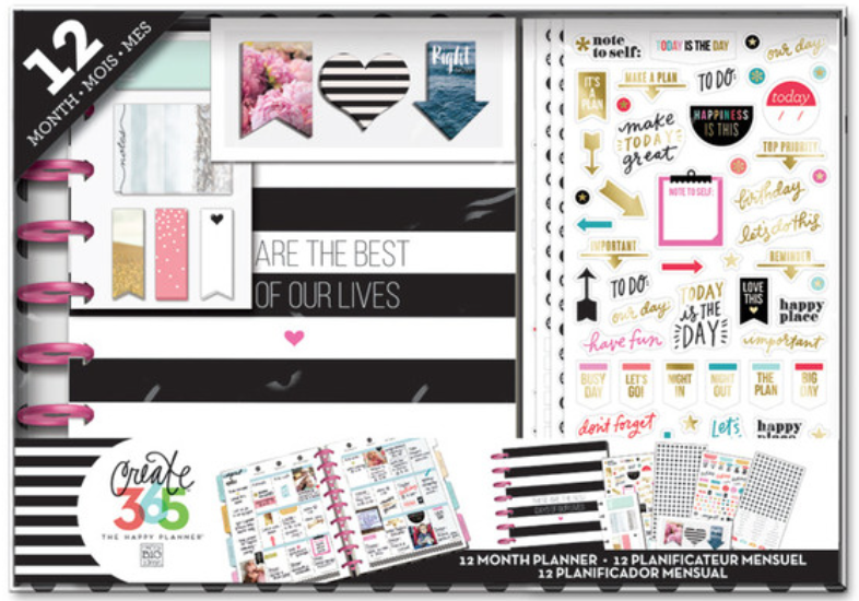 The Happy Planner™ 12-Month 'Best Days' BOX KIT | me & my BIG ideas