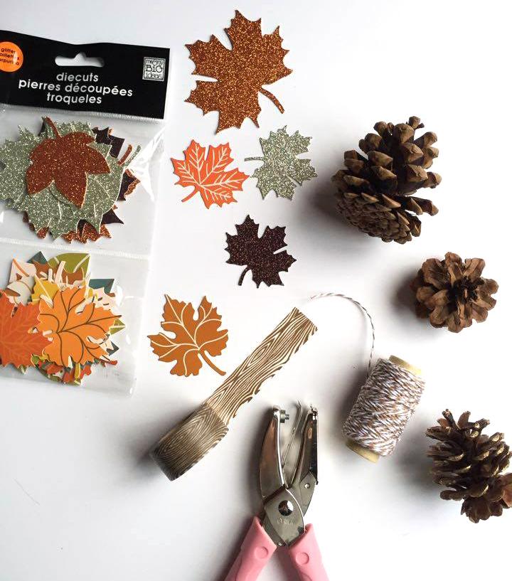 Thanksgiving crafts by mambi Design Team member Megan McKenna | me & my BIG ideas