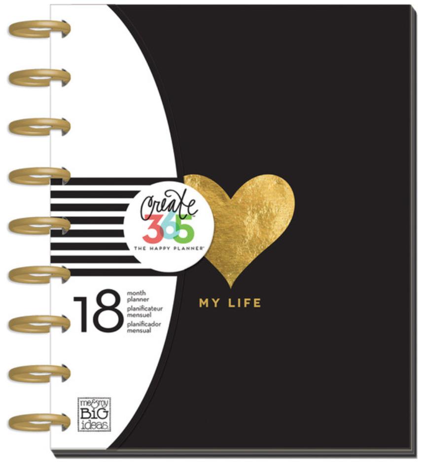 2015-2016 'My Life' Happy Planner   me & my BIG ideas