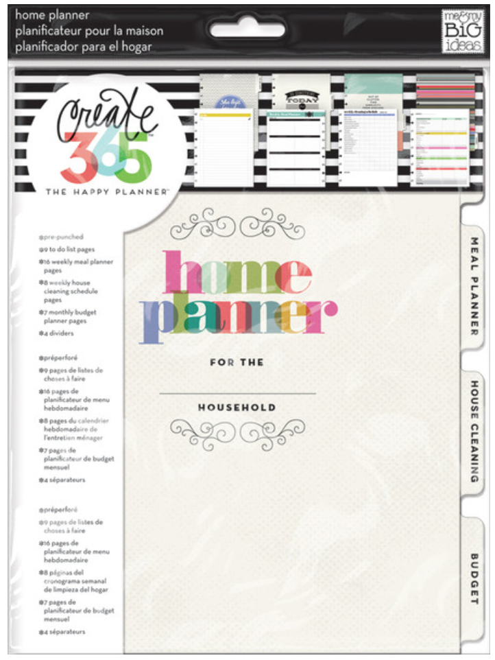 Home Planner Extenstion Pack for Create 365™ The Happy Planner™ | me & my BIG ideas