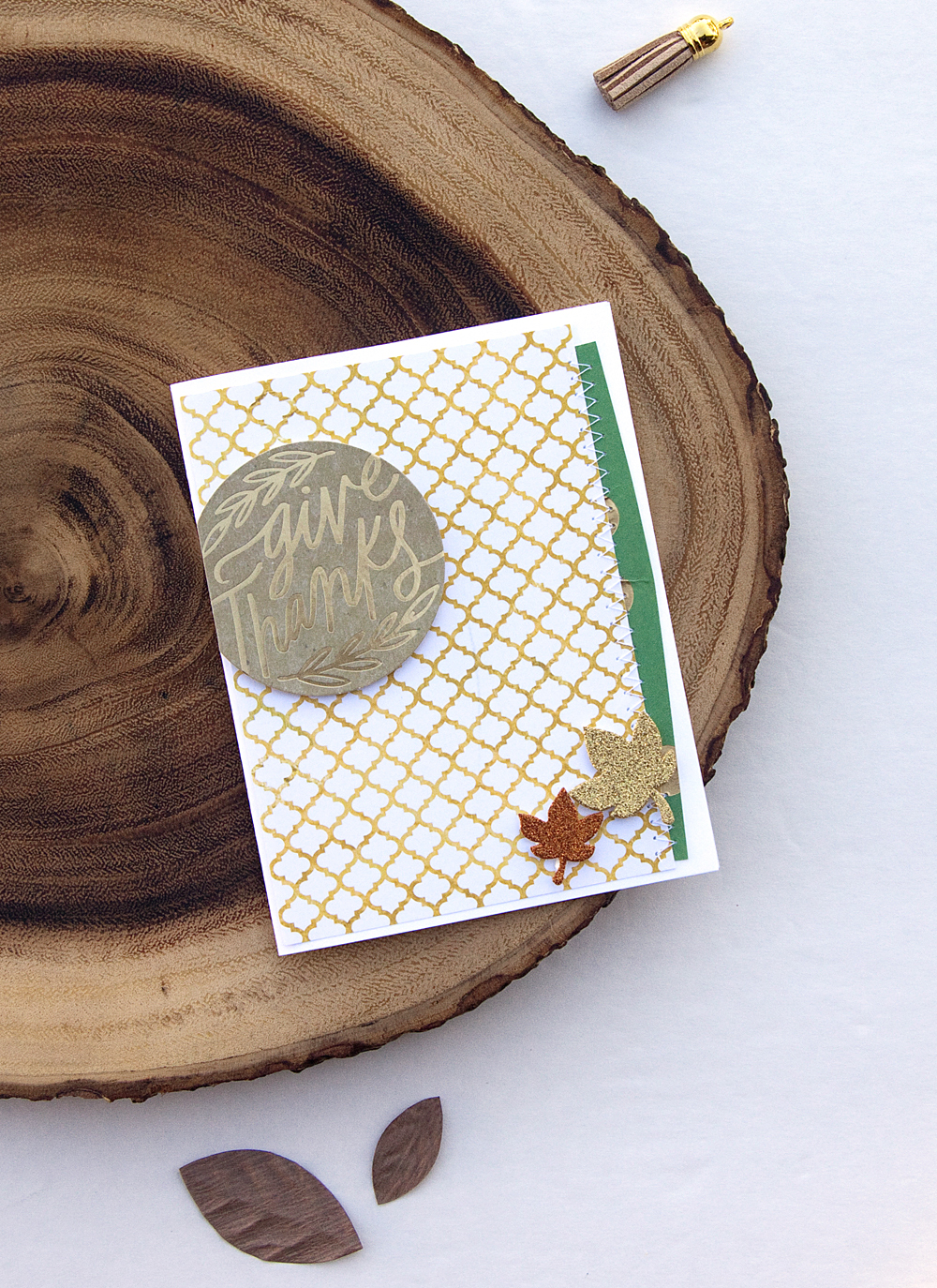 Thanksgiving cards by mambi Design Team member Jennie McGarvey | me & my BIG ideas
