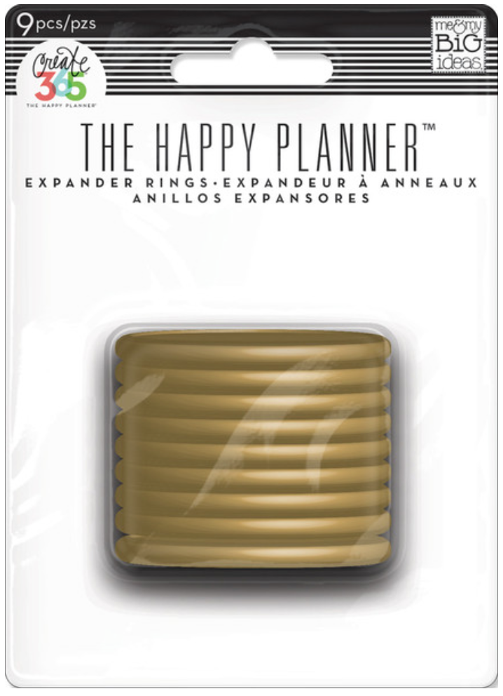 Gold Expander Discs for Create 365™The Happy Planner™ | me & my BIG ideas