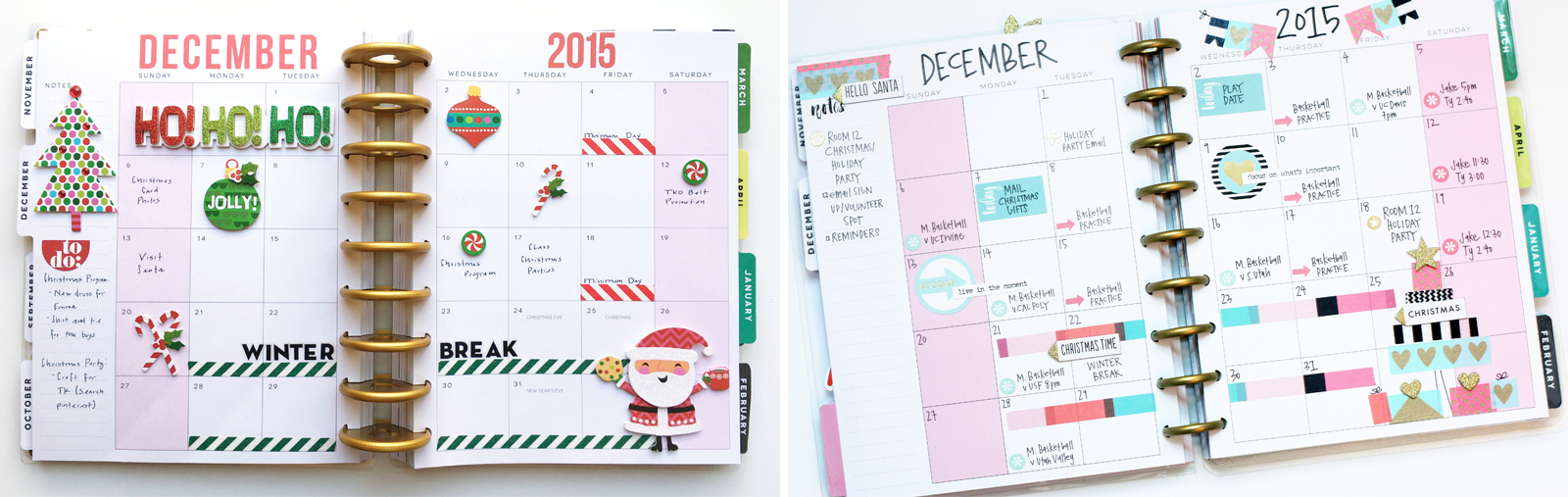 "picture relating to Happy Planner Monthly Layout Printable referred to as The Pleased Plannerâ""¢ 2 December Regular monthly Types me my"