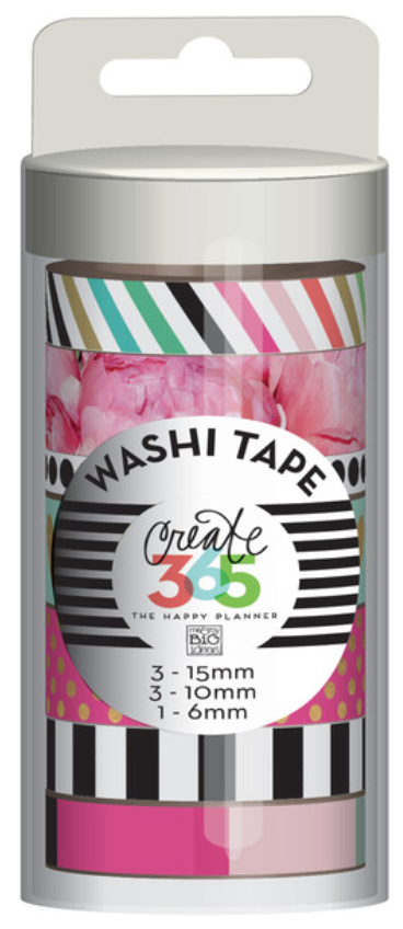 Peony Washi Tape for Create 365™ The Happy Planner™ | me & my BIG ideas