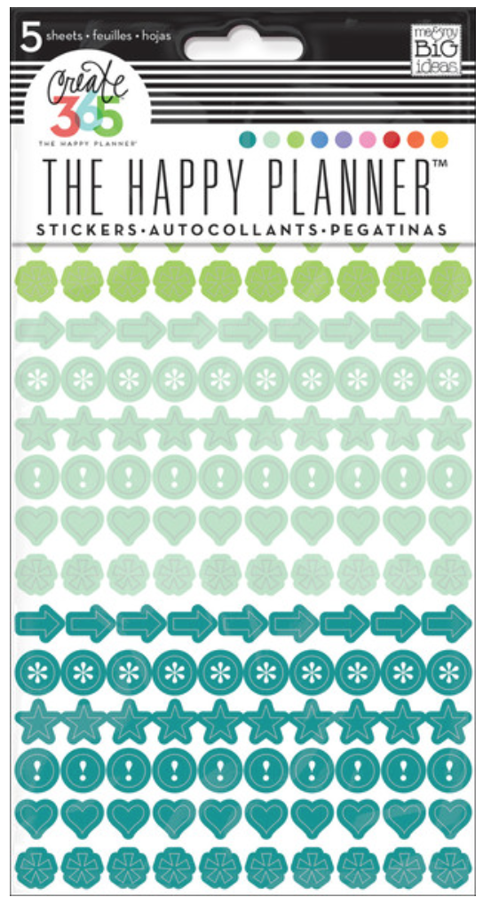 Colorful Dots stickers for Create 365™ The Happy Planner™ | me & my BIG ideas